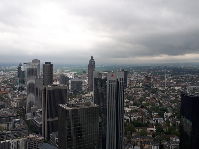 Blick vom MainTower